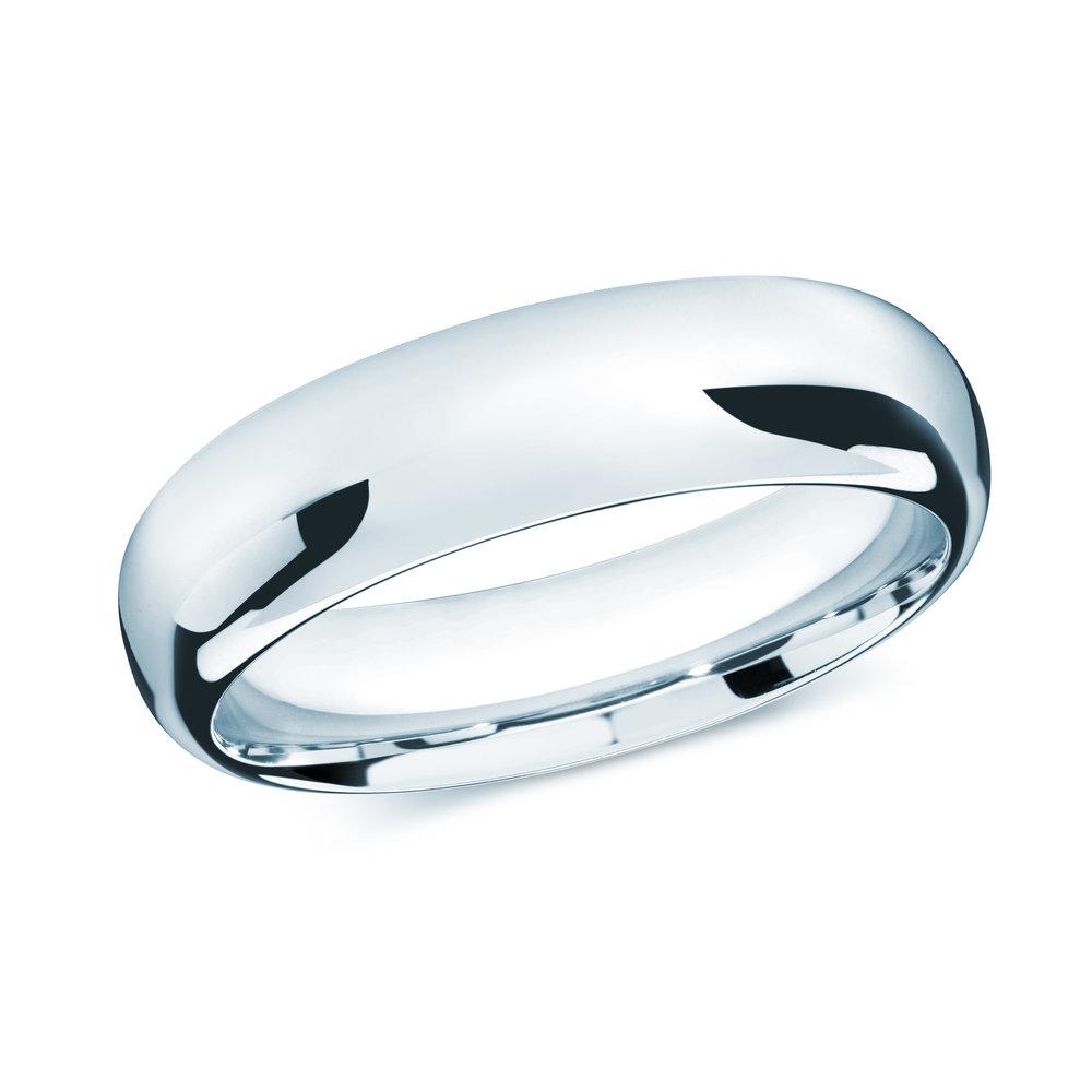 White Gold Men's Ring Size 7mm (J-207-07WG)