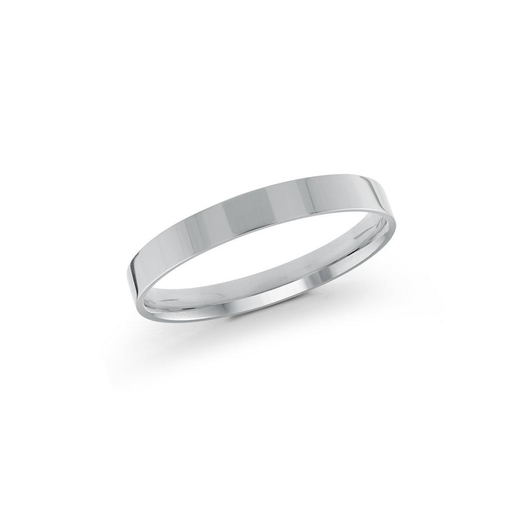 White Gold Men's Ring Size 2mm (J-213-02WG)